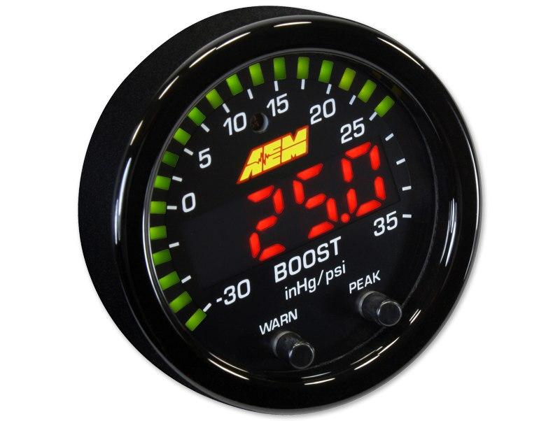 Zegar AEM ELECTRONICS Boost X-Series - GRUBYGARAGE - Sklep Tuningowy